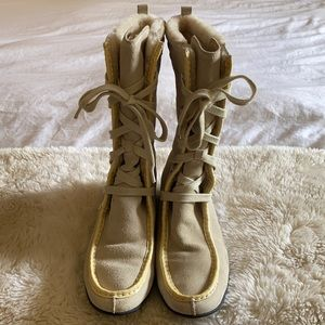 Cole Haan Women's Suede Water Proof Boots Size 9